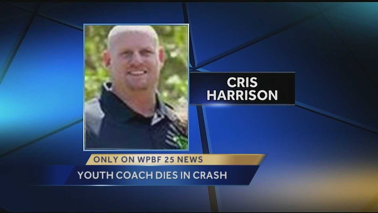 A man who was a mentor to so many kids died Tuesday in a crash along Pratt Whitney Road. Cris Harrison was a youth baseball coach in Palm City.