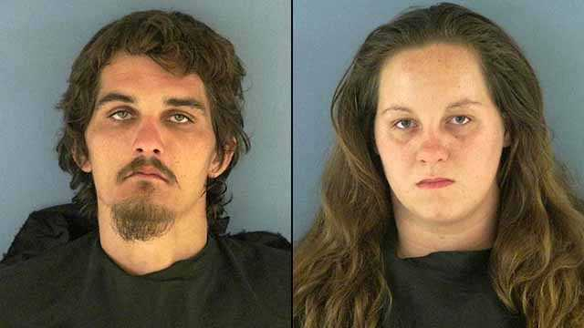 Emily Dreher, 23, is facing 4 counts of aggravated animal cruelty and Timothy Courson, 22, is facing 2 counts of aggravated animal cruelty.