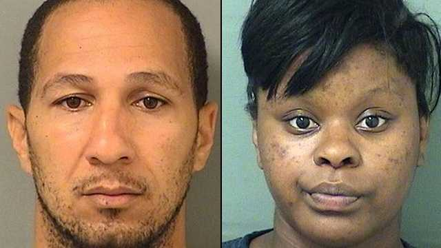 Luis Antonio Saez, 40, and Mercedes L. Bannister, 20, are each facing a charge of lewd and lascivious behavior.