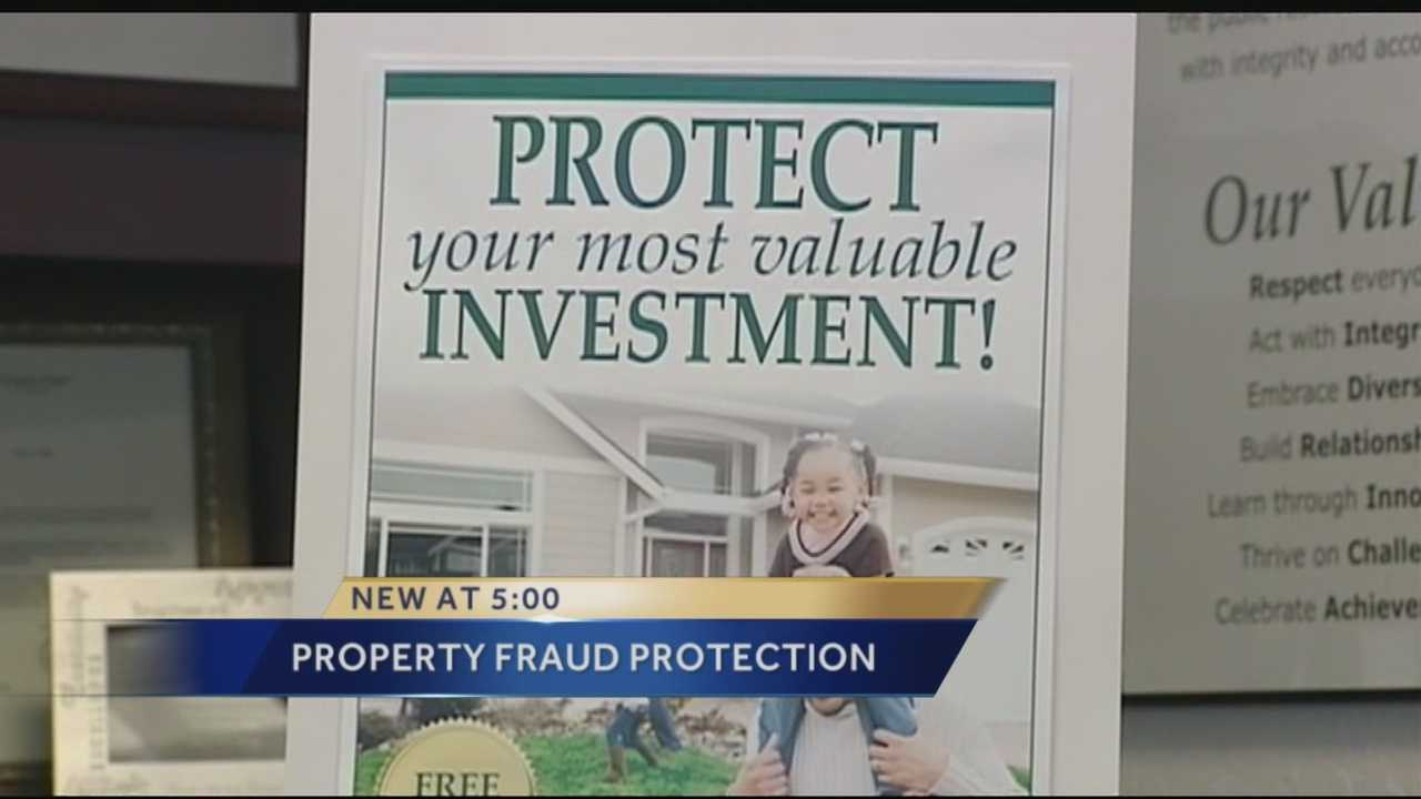 New service helps fight property fraud