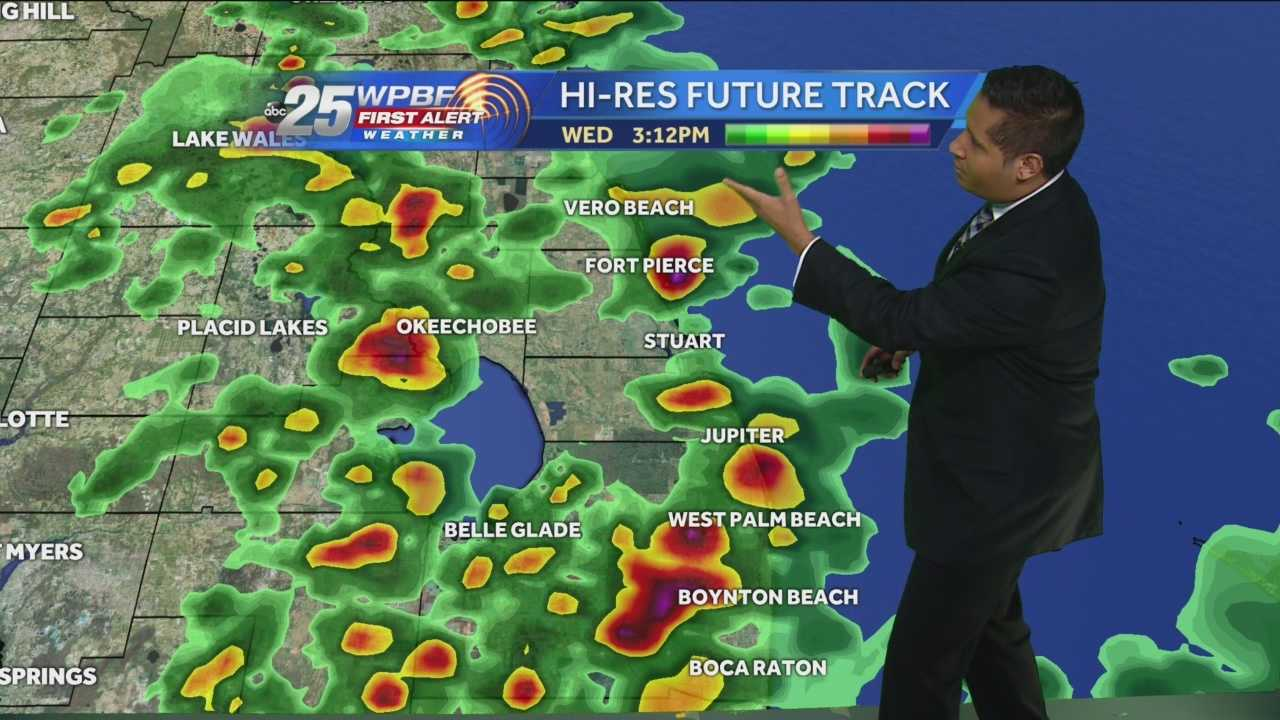 Cris Martinez's Noon forecast.