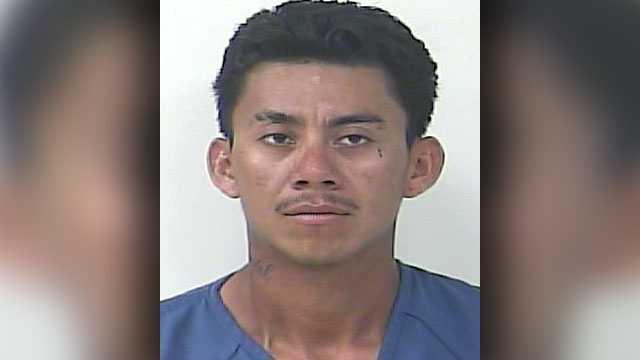 Gelacio Uriel Jimenez has been charged with homicide.