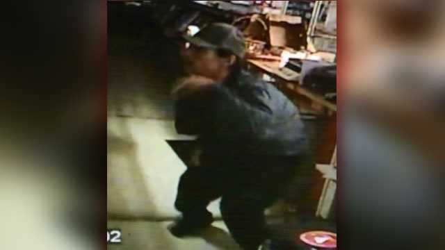 Photo of suspect captured from video surveillance.