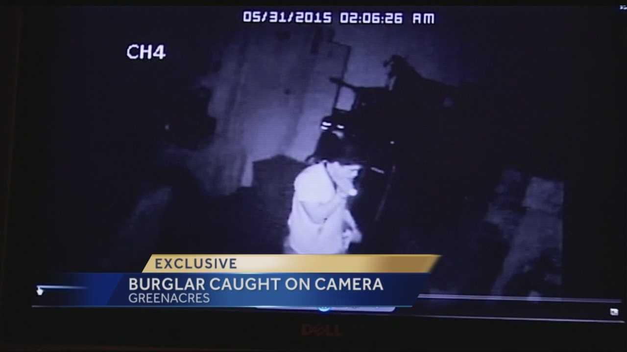 Alleged rooftop burglar nabbed