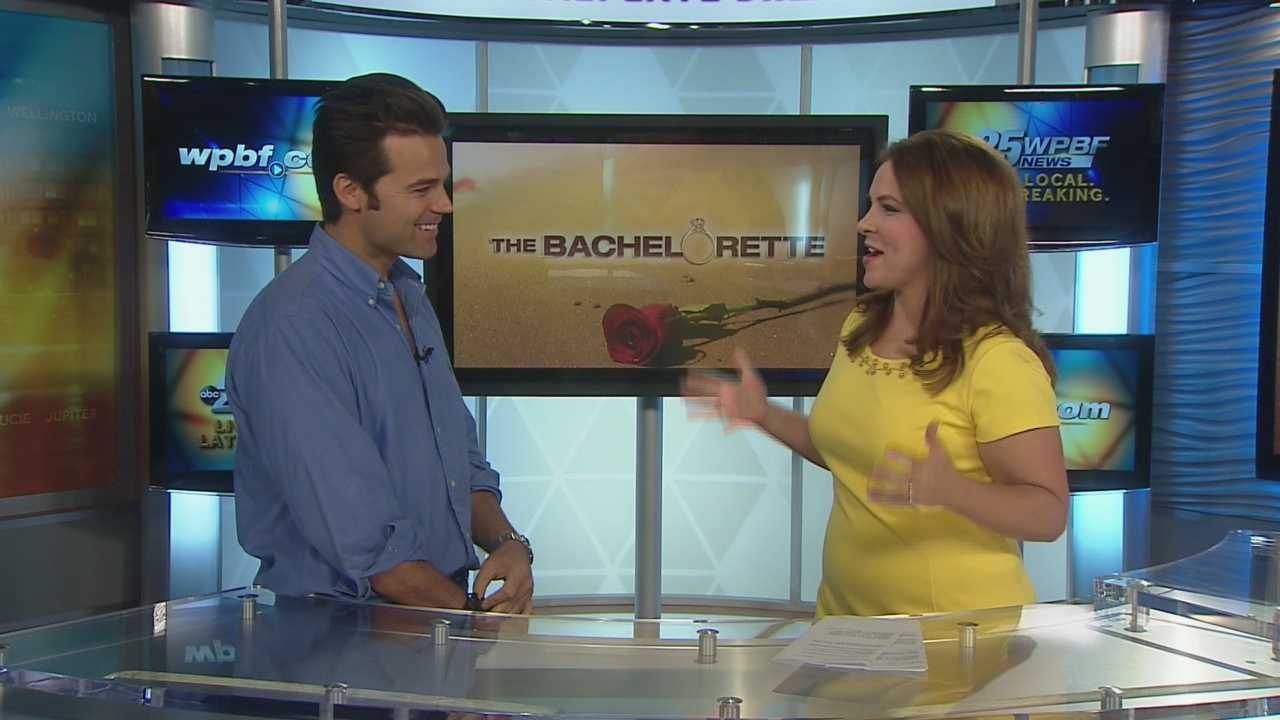Ryan B stopped by our WPBF 25 studio on Tuesday to recap his experience on the hit ABC show The Bachelorette. WPBF 25's Stephanie Berzinski asked Ryan your questions from Facebook and Twitter.