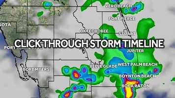 Click through our Tuesday hour-by-hour forecast to see when you can expect the rain in your area. + Watch forecast