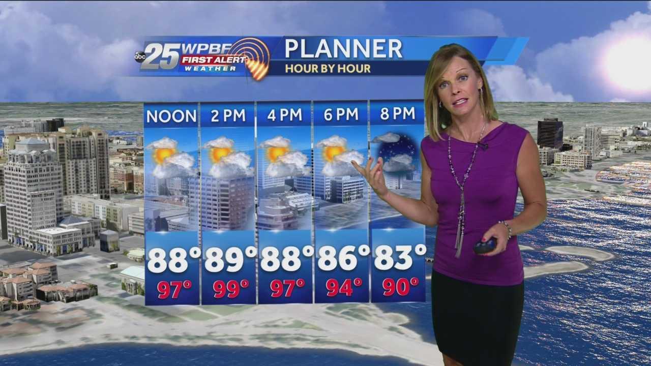 Sandra Shaw's Noon forecast