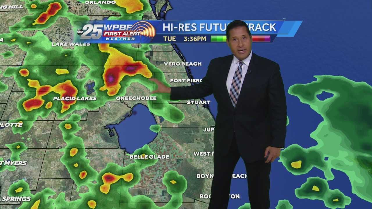 Cris Martinez's Noon South Florida forecast