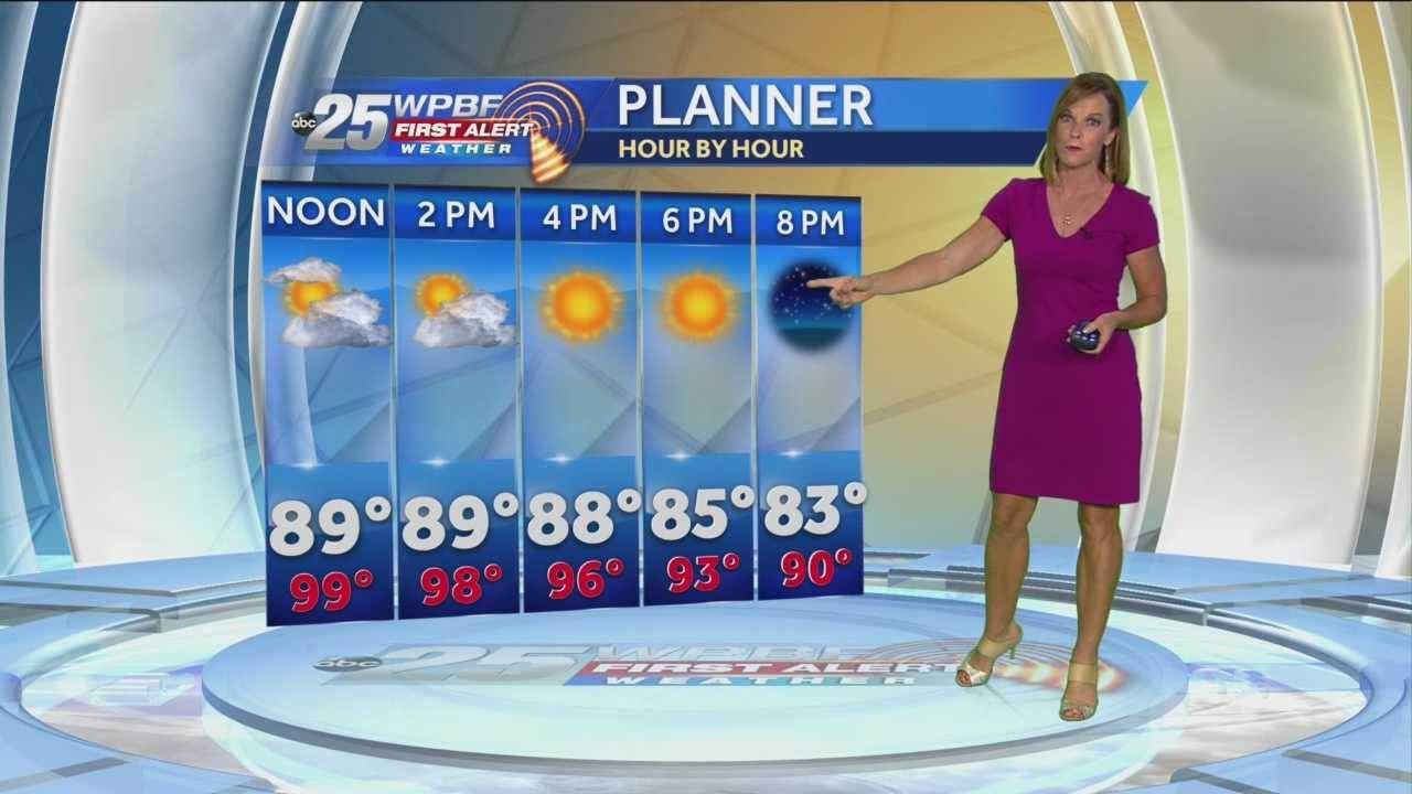 Sandra Shaw's Wednesday afternoon forecast.