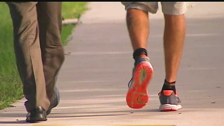 Last month, Craig White laced up his shoes in Key West and started walking to raise awareness for homeless veterans.