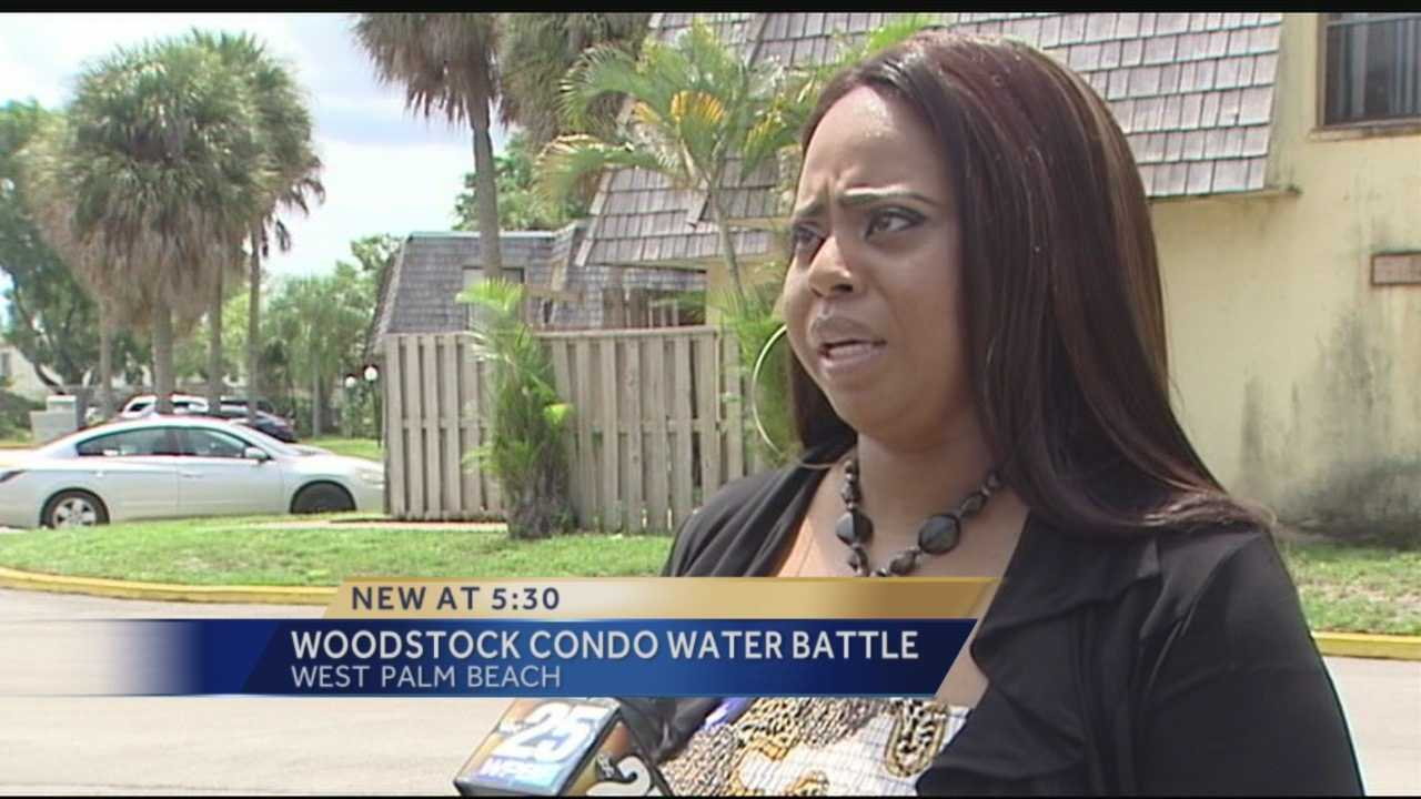 Earlier this month, the city of West Palm Beach sent a letter to Woodstock condominium owners, stating the community's Homeowner's Association needs to pay the community's water bill, which is long past due. The bill is nearly $62,000.