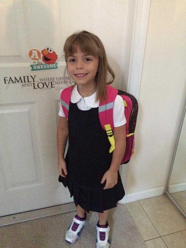 Alicia Reeder- 1st grader here!