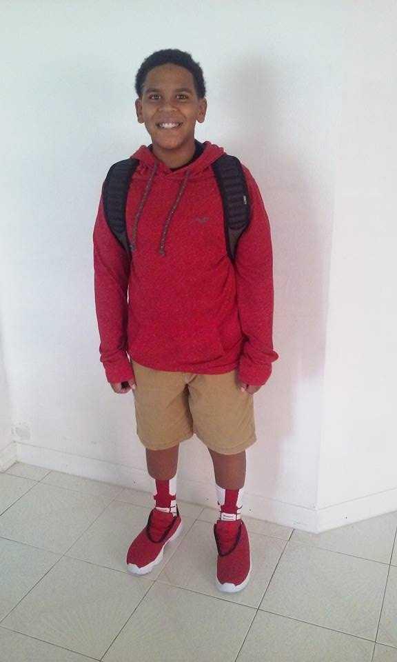 My 6th Grader Davin.