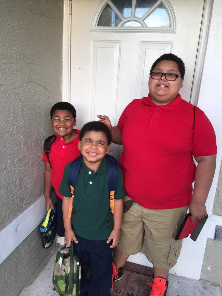 First day of 2nd, kinder, 6th grade.