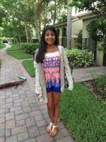 Sophomore girl at AHS.