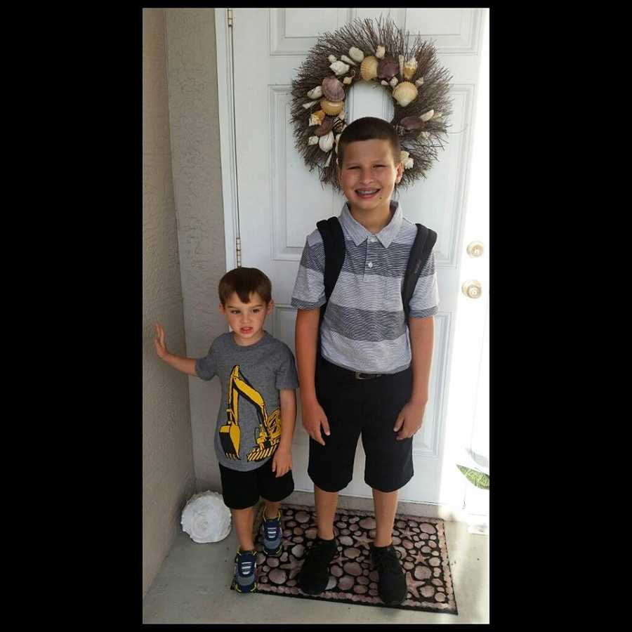 Brayden(preschool) & Bryce (7th grade)