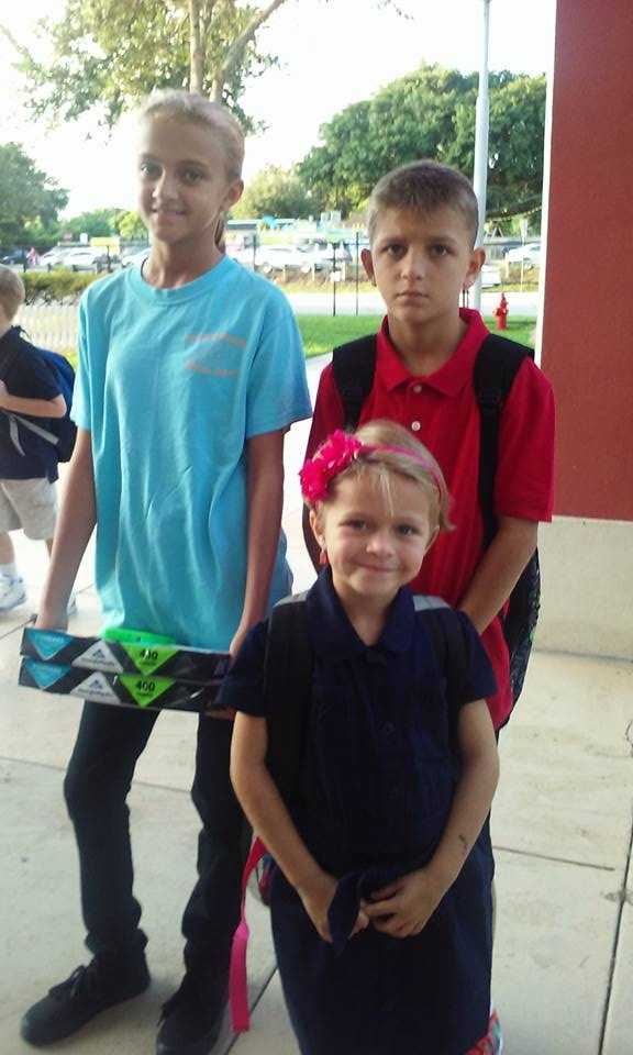 First day of 1st, 4th, and 6th grades.