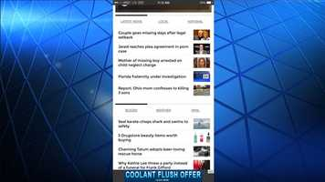 Find the latest local and national news that matters to you easily.