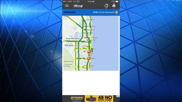 Stay on top of any traffic situations with our traffic maps.