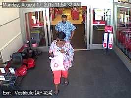 The Palm Beach County Sheriff's Office is looking for the people who used stolen credit cards.