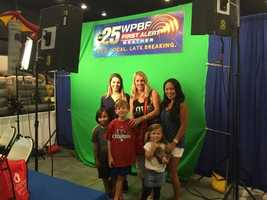 WPBF 25 was the proud sponsor of the Our Kids World at the South Florida Fairgrounds this weekend.