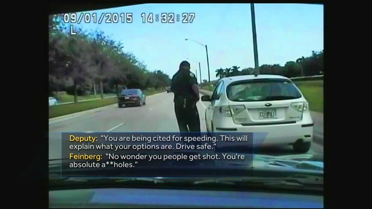 A shocking exchange between a Boynton Beach woman and a Palm Beach County deputy is gaining nationwide attention.
