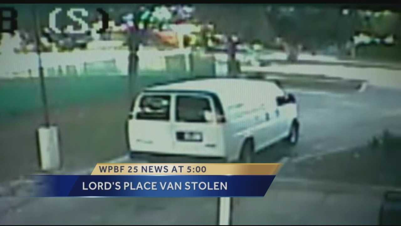 West Palm Beach police are still trying to figure out who stole a van from The Lord's Place Joshua Café Friday morning.