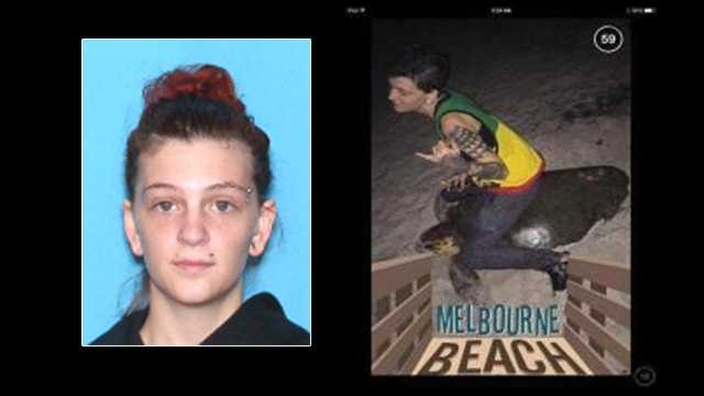 Stephanie Marie Moore, 20, has been charged withFelony Warrant for possess, sell, molest marine turtle or eggs nest.