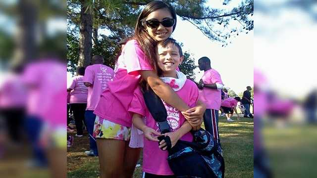 My brother and I walked to support thousands of cancer families in the Columbia area (and everywhere!) much like our own. Our mother is a survivor, and we are so fortunate for her strong will, and her relentless spirit. We love you, Mercy!