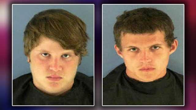 Left: Aaron Hill, 17. Right: Kyle Robert Selwyn, 20.