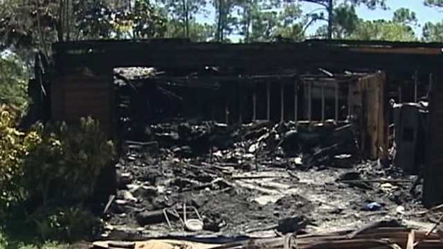 The 86-year-old founder of the Life for Youth Camp escapes from a fire.
