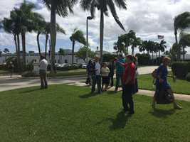 WPBF 25 News studios and businesses within Northcorp Corporate Park were evacuated Tuesday because of a bomb threat. The call came in around 12:25 p.m.