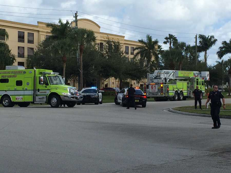 Palm Beach Fire Rescue and the Palm Beach Gardens Police Department cleared the scene at 1:30 p.m.