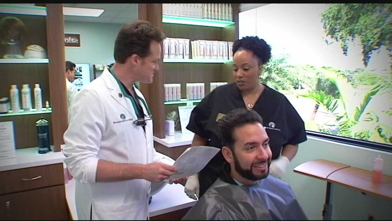 A Boca Raton doctor is hoping to help women and men with thinning, brittle hair.
