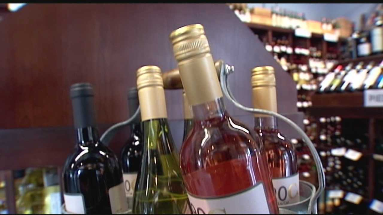 A West Palm Beach business owner has come up with a low-calorie wine that won't break your bank account or waistline.