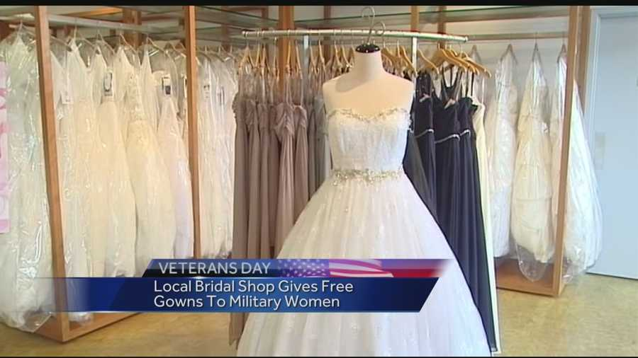 Military brides get chance at free wedding dresses for Free wedding dresses for military brides