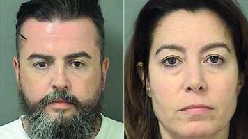 Thomas and Michelle Holloran are charged with aggravated battery on an elderly person and disorderly conduct.