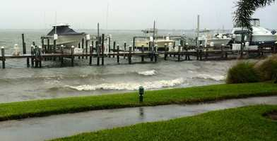 Indian River at Jensen Beach Marina.