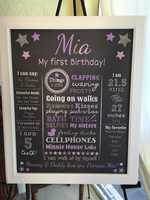 Some fun facts about Mia.