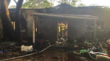 Fire officials in Okeechobee are investigating after structure fire broke out Tuesday at C&S Salvage.