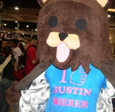 What is this thing and why does he love Justin Bieber so much?