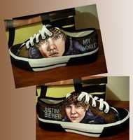 Perfect for the person who wants to walk all over Bieber.
