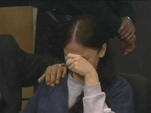 August 2011: Dalia Dippolito cries as she listens to her family ask for leniency in her sentencing.