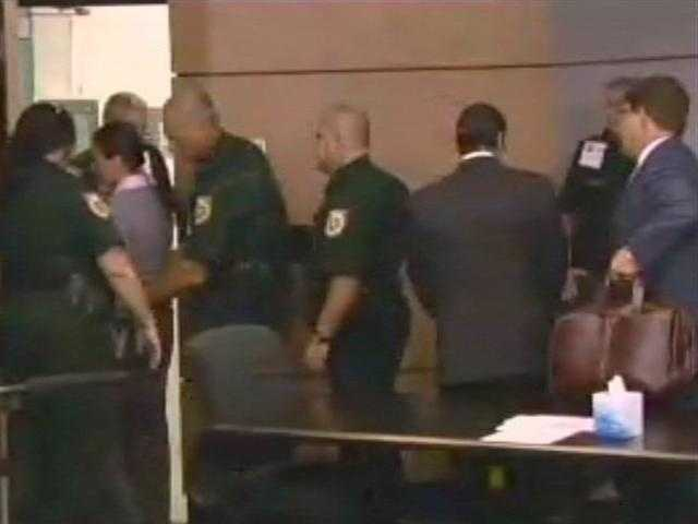 May 2011: Dalia Dippolito is led out of the courthouse in handcuffs after being found guilty.