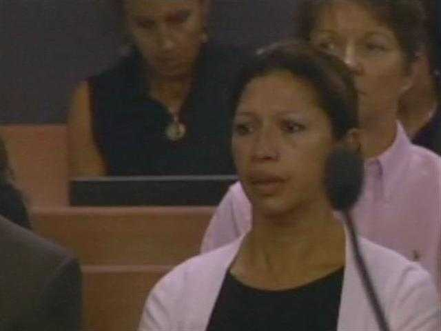May 2011: Dalia Dippolito's mother listens as the verdict is read.