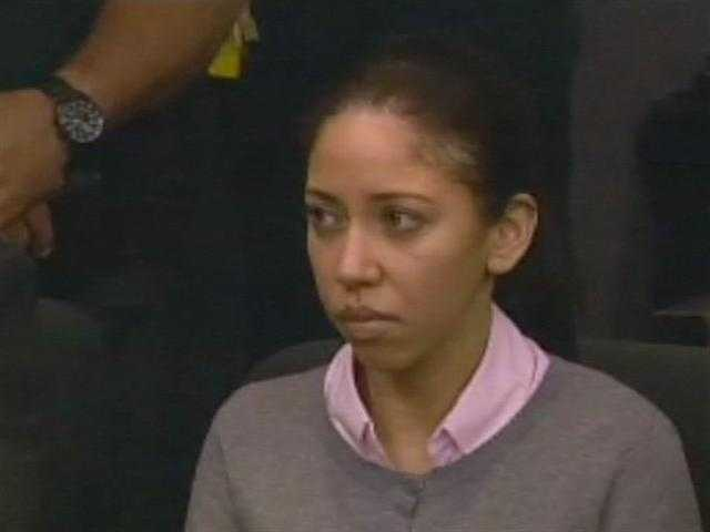 May 2011: Dalia Dippolito reacts after a juror reads the verdict -- guilty of solicitation to commit first-degree murder.