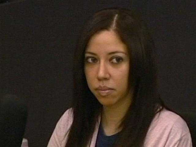 May 2011: Dalia Dippolito listens as her trial continues.