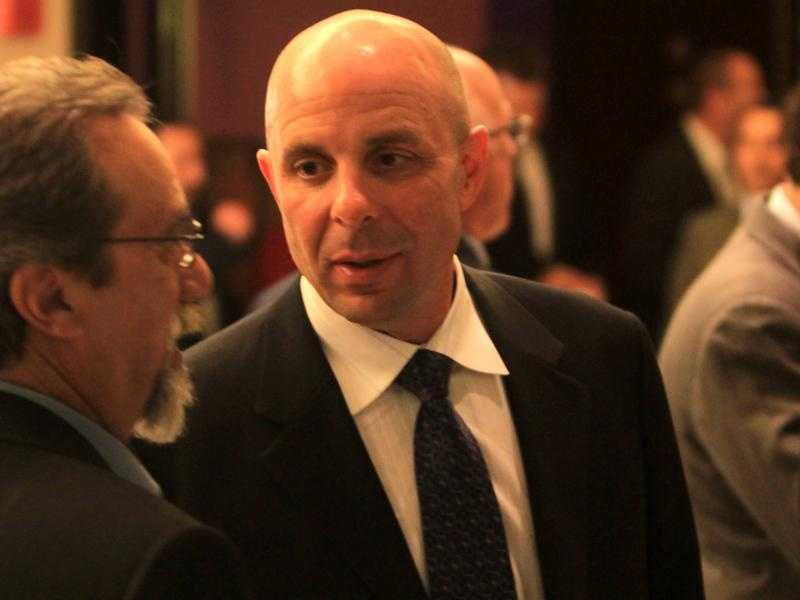 Recently hired Florida Atlantic football coach Carl Pelini was among the guests at Tuesday night's banquet.