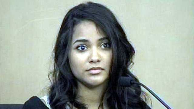 Witness Nicole Oroco told jurors she drove up to the scene of the accident and noticed Goodman's car was still smoking.