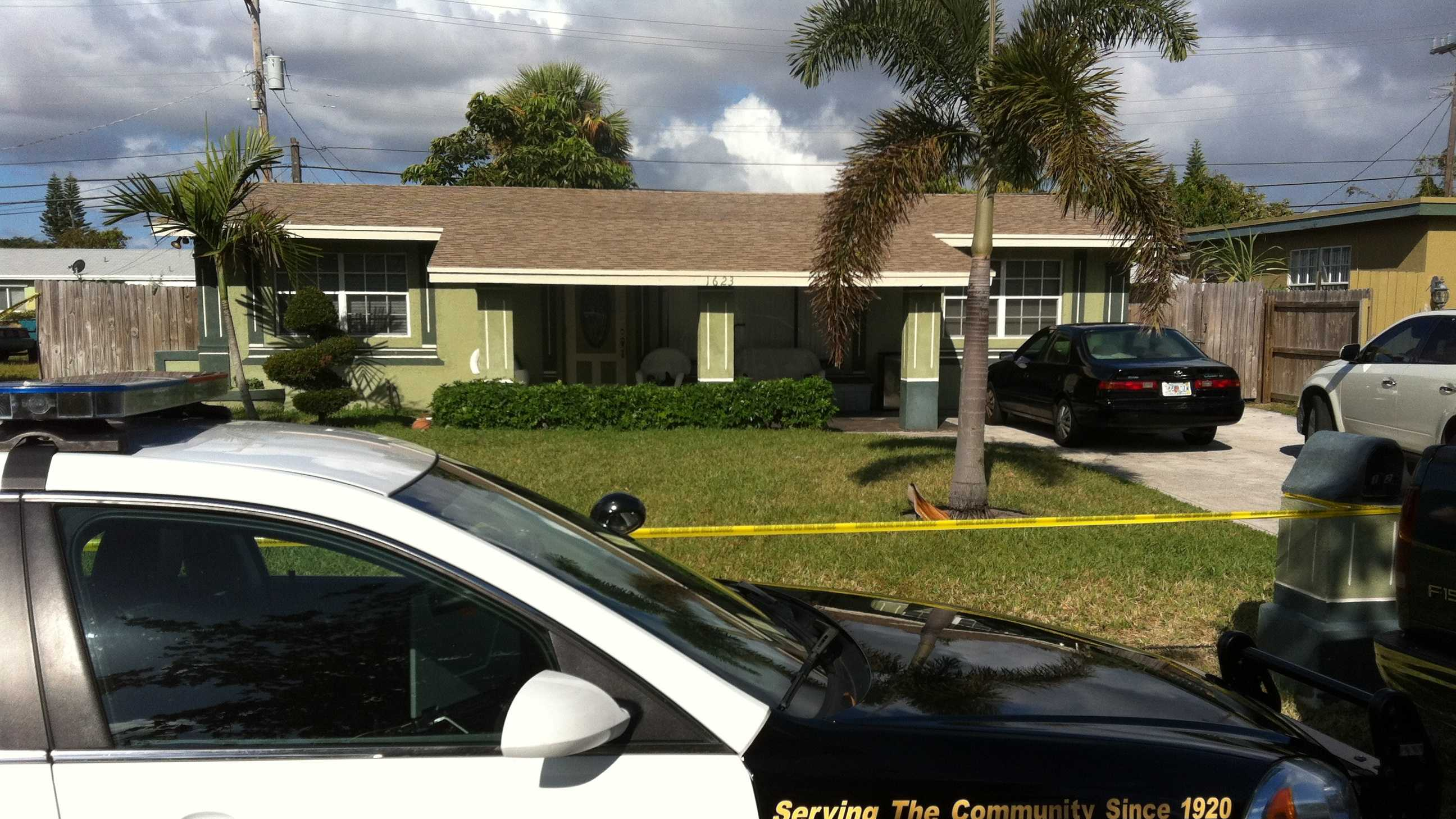 Two sisters were shot and killed in a home invasion in Boynton Beach.